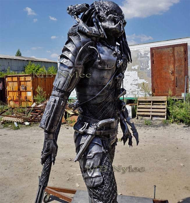 figury metalowe - predator ze stali - alien vs predator  - skala 1:1 - nr.kat. Z74