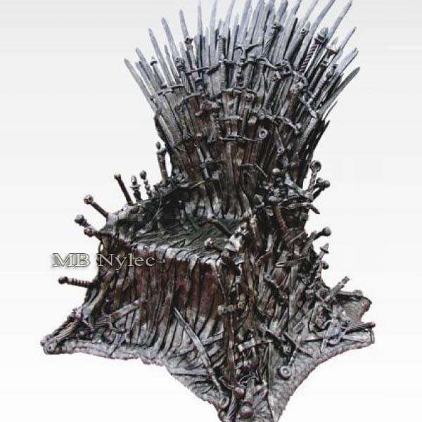 rzeźby kute z metalu - gra o tron - tron ze stali - kowalstwo artystyczne nr.kat. Z53