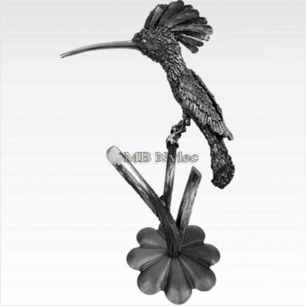 rzeźby ze stali - dudek z metalu - kowalstwo artystyczne - nr.kat. Z51